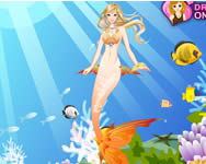 Little Mermaid dress up H2o j�t�kok ingyen