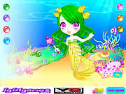 Little mermaid princess j�t�k