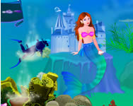 Mermaid kingdom decoration H2o j�t�kok