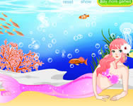 Pretty mermaid dress up j�t�k