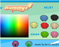 Summer Mermaid coloring H2o j�t�kok ingyen