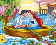 The Little Mermaid hidden objects H2o j�t�kok