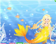 Sweet mermaid fairy dress up H2o játékok ingyen